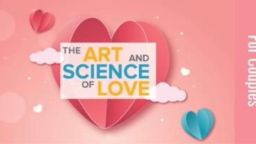 heart graphic with couples workshop logo